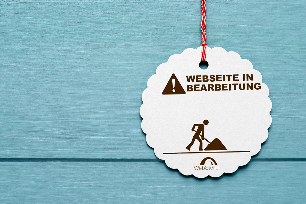 WEbseite in Bearbeitung